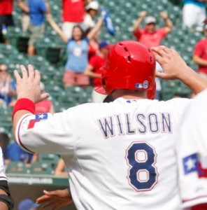 The Rangers' Magic Number is 8!
