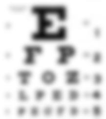 EyeChartBlurry