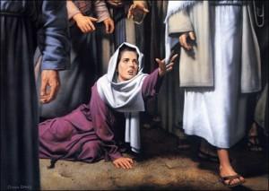 JesusHealsWoman