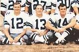 Ron Widby, Jerry Rhome, Craig Morton