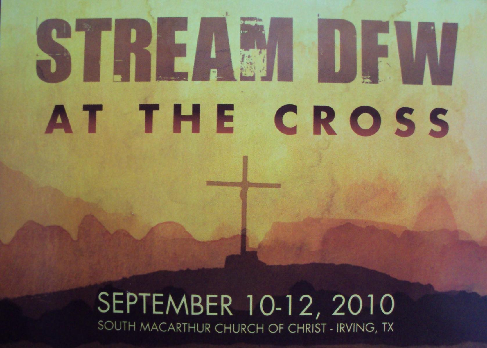 Stream DFW September 10-12 South MacArthur Church of Christ